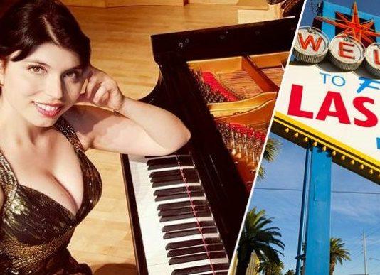 Чаровна българка свири, пее и преподава в сърцето на Лас Вегас