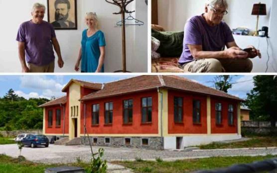 Англичанин купи училище в българското село Левка