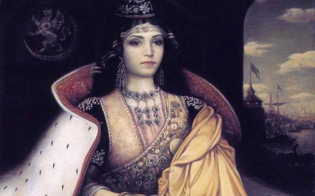 """Изумителната история на """"богиня на красотата""""- великата българска владетелка, пазител на християнството!"""