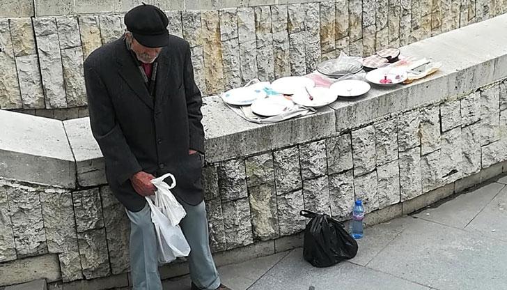 Самотен дядо от Пловдив разплака мрежата