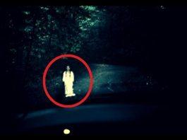 Дух на млада девойка изскача на пътя край ямболското село Лесово...